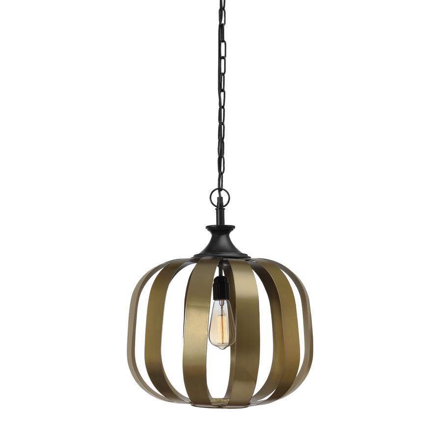 Berlin Antique Brass Pendant Light Zest Lighting