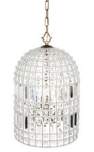 Bella Crystal Bead Pendant Light