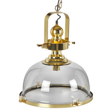 Blake Pendant Light - Brass