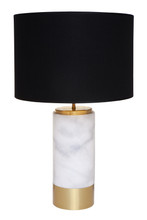 Paola Table Lamp - White