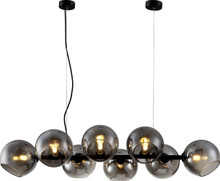 Soho 8 Light Modern Pendant Lamp - Lights on
