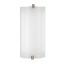 Arla LED Nickel Frost Wall Lamp