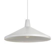 Wide Hat Pendant Light