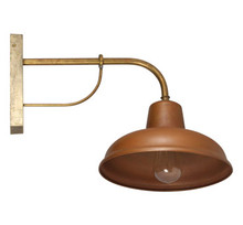 Florence Rustic Copper Vintage Wall Light