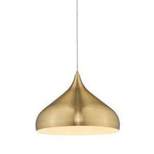 Nova Brass Pendant Light