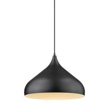 Nova Black Pendant Light