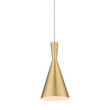 Ruby Brass Pendant Light