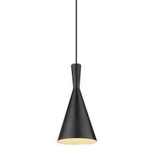 Ruby Black Pendant Light