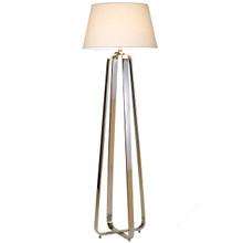 Boston Floor Lamp-White Shade