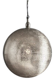 Orlean Extra Large Nickel Pendant Light