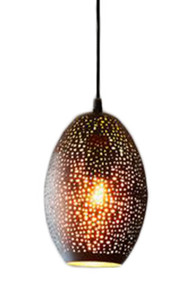 Stella Black Balloon Pendant Light