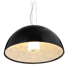 Replica Flos Marcel Wanders Sky Garden Pendant Lamp - Gloss Black - Light On - Medium