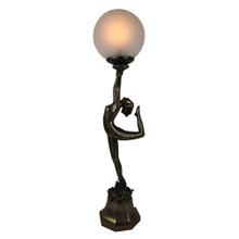 Dancing Lady Art Deco Table Lamp
