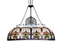 Floral Billiards Pendant Lamp