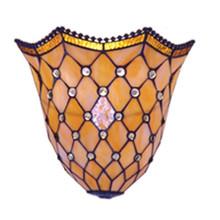 Cream Yellow Geometric Wall Lamp