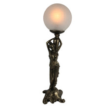 Lady with Ball Art Deco Lamp
