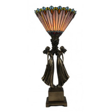 Atlas Girls Art Deco Lamp