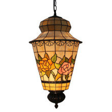 Rose Tiffany Lantern Pendant Light