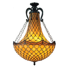 Geometric Tiffany Pendant Chandelier
