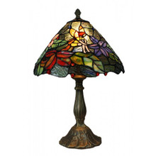 30cm Flower Fairy Art Glass Table Lamp