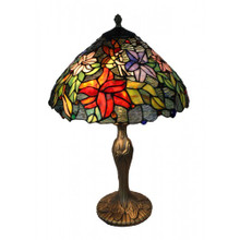 40cm Flower Fairy Art Glass Table Lamp