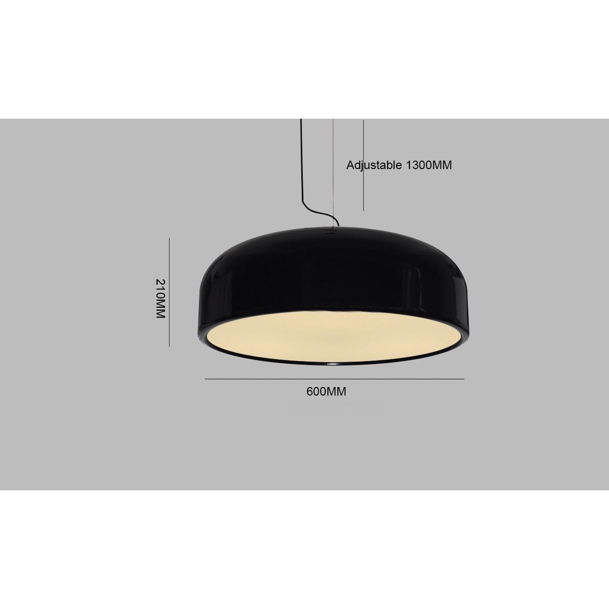 Loading zoom  sc 1 st  Zest Lighting & Replica Jasper Morrison Smithfield Suspension Lamp - Black - Zest ...