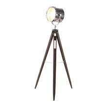 Vintage Caged Tripod Spot Light Floor Lamp