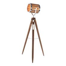 Barrel Tripod Floor Lamp