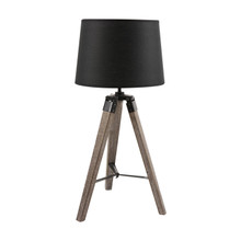 Nautical Marine Black Tripod Table Lamp