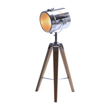 Marine Natural Search Light Tripod Table Lamp