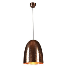 Dolce Beaten Copper Pendant Light