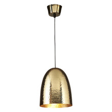 Dolce Beaten Brass Pendant Light