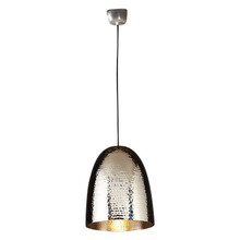 Dolce Beaten Silver Pendant Light