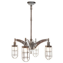 Chrysler Four Arm Chandelier