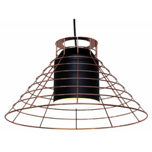 Black Cage Pendant Light