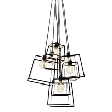 Pop Cluster 7 Light Pendant - Black