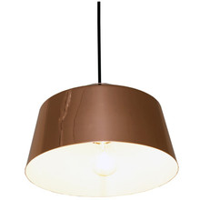 Rose Gold Drum Metal Pendant Light