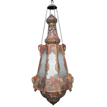Aladdin Rustic Antique Ornate Chandelier - Large