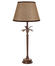 Casablanca Palm Tree Brown Table Lamp