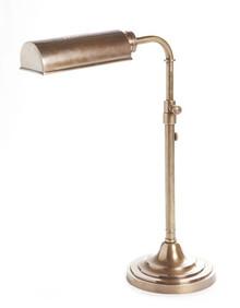 Brooklyn Antique Brass Desk Lamp