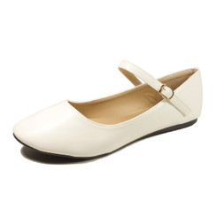 Nova Utopia Women's Mary Jane Flats - NFLA01 White