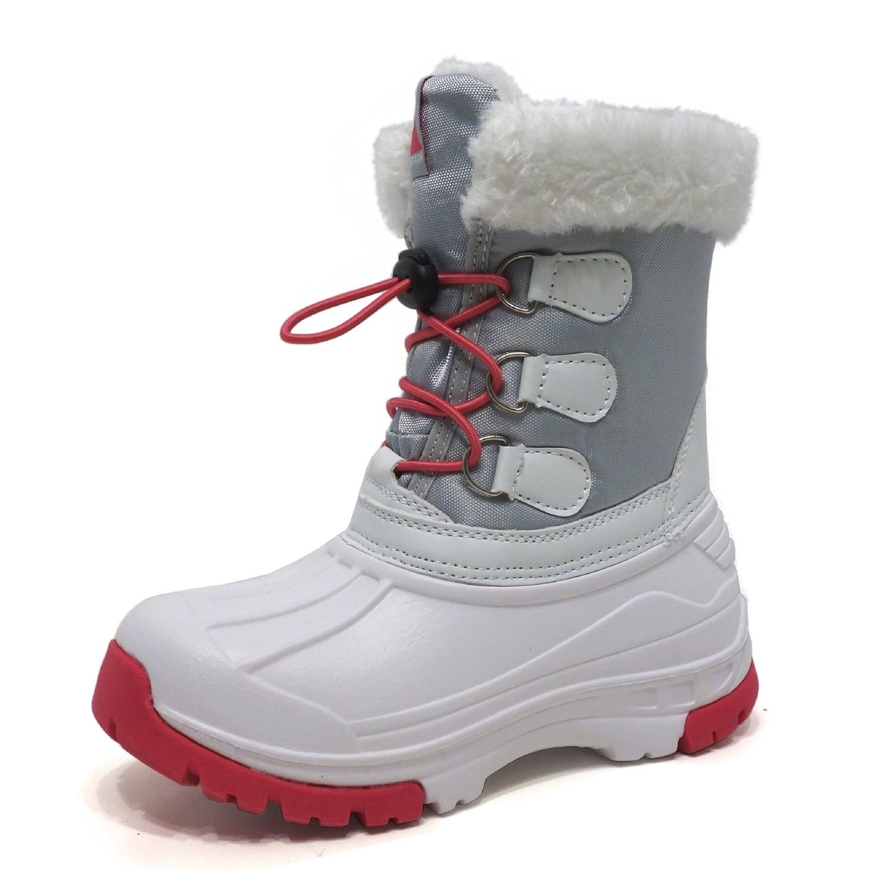 Winter Snow Boots - Girl WB01 White