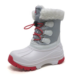 Nova Toddler Little Kid's Winter Snow Boots - Girl WB01 White