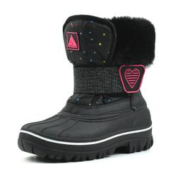 NFWB118 Black Snow Boots