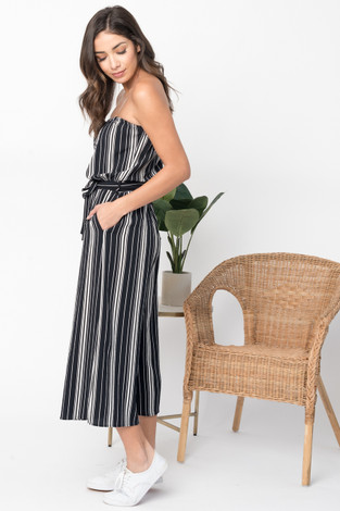 Sleeveless Midi Jumpsuit