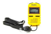 Stopwatch - Digital - 5 Lap Memory - Multi-Mode - Yellow - Each