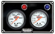 61-6701  -  Gauge Panel Assembly - Oil Pressure/Oil Temp/Water Temp - White Face - Warning Light - Kit