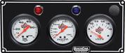 61-6717 - Gauge Panel Assembly - Oil Pressure/Water Temp/Volt - Silver Face - Warning Light - Kit