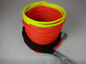 "1/4"" x 50 Feet - Warning Winch Rope - Orange"