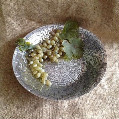 Basket Weave Bowl Large